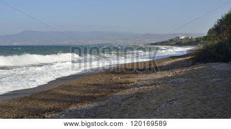 Surf On Aphrodite Beach