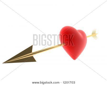Arrow In A Heart