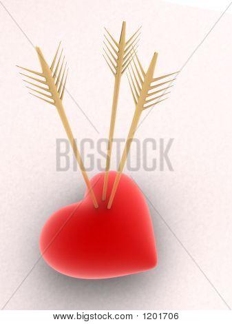 Arrows In A Heart