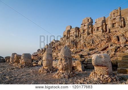 West Terrace Of Mount Nemrut