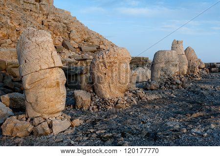 West Terrace Of Mount Nemrut.
