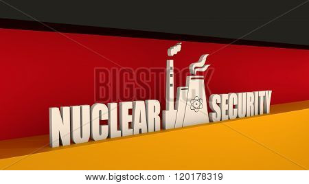 Energy generation atom station