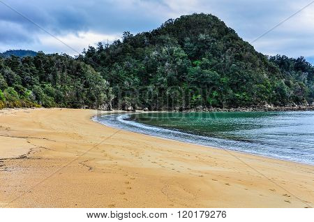 Torrent Bay In Abel Tasman National Park, New Zealand