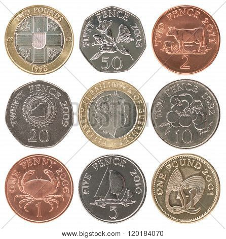 set of coins Guernsey