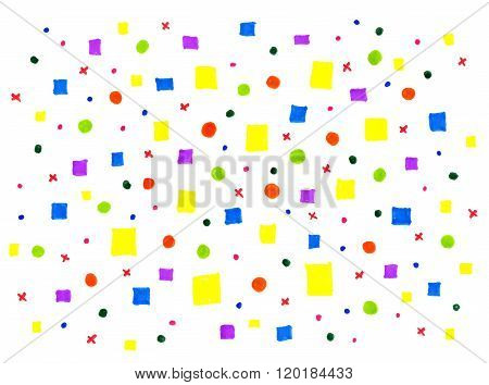 Abstract Background With Bright Pattern
