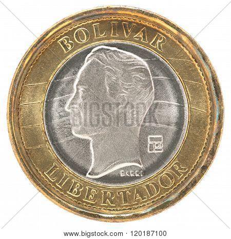 Venezuela Bolivar Coin