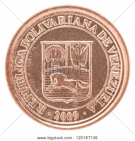 Venezuela Centimos Coin