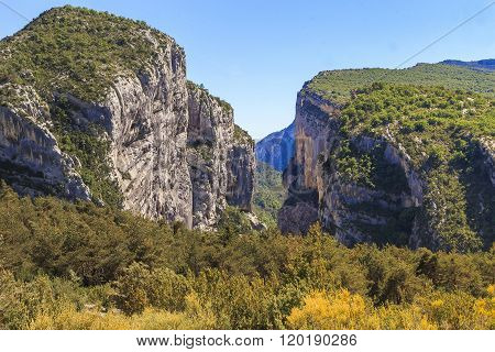 Verdon River Canyon