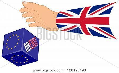 BREXIT, referendum concept