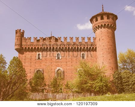 Medieval Castle Turin Vintage