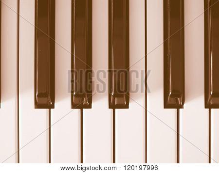 Keyboard Electronic Instrument Vintage