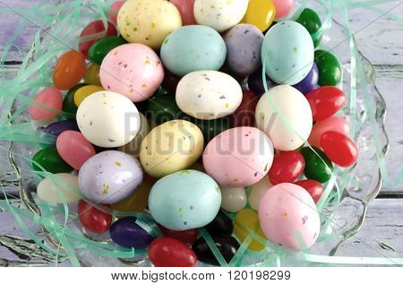 Speckled Colorful Easter Candy