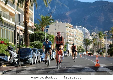 Bicycle Racing On Paved Roads