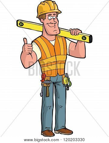 Builder With Level