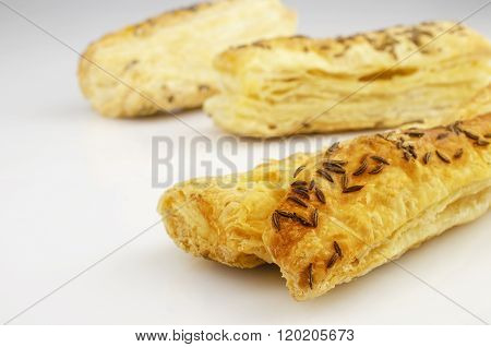 Puff Pastry, With Caraway Seeds
