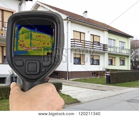 House Basement Thermal Imaging Analysis