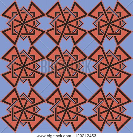 beautiful background with celtic pattern