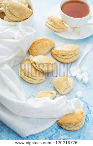 Small hand pies with cottage cheese filling