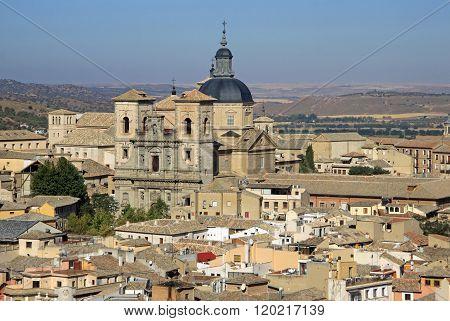Toledo, Spain - August 24, 2012: Aerial View Of Toledo, Spain