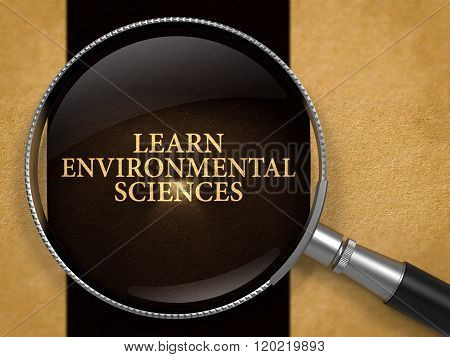 Learn Environmental Sciences Concept through Magnifier.