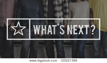 What is Next  Forecast Future Prediction Trend New Concept