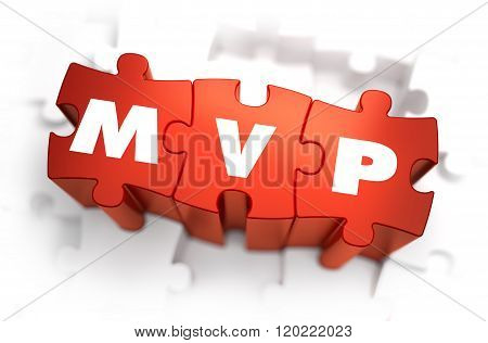 MVP - White Word on Red Puzzles.