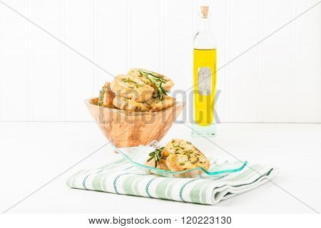 Rosemary Crostini And Olive Oil
