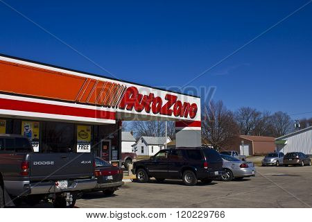Indianapolis - Circa March 2016: AutoZone Retail Store I