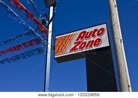 Indianapolis - Circa March 2016: AutoZone Retail Store II