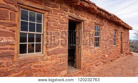 Sandstone Cabin At Pipe Spring National Monument