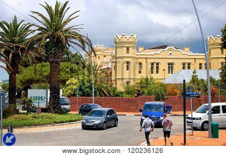 Somerset Hospital in Cape Town.