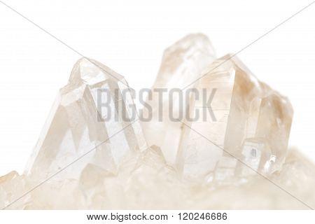 Cluster Of Small Quartz Crystals