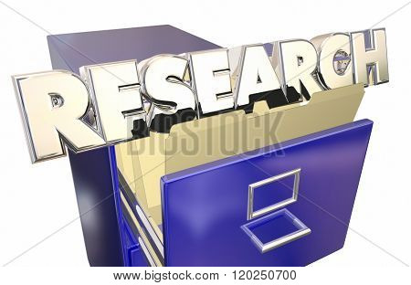 Research File Folder Searching Information Learning Facts