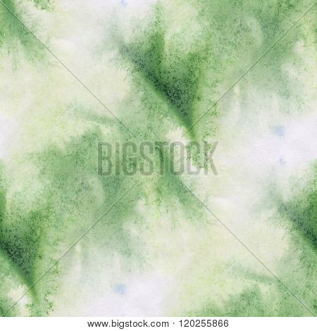 abstract green unique water seamless watercolor color pattern brush painting watercolour background