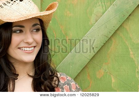 Smiling Cowgirl
