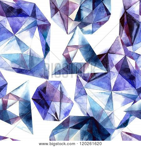 Diamonds texture background
