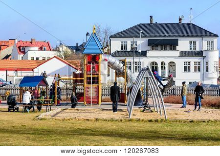Playground With People