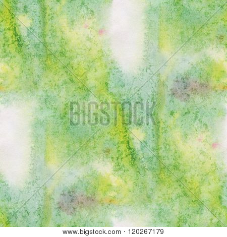 unique abstract watercolor seamless green water color pattern brush painting watercolour background
