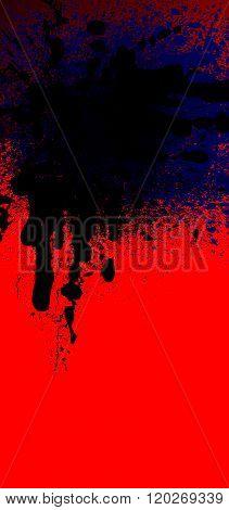 Blot Background Black-rad