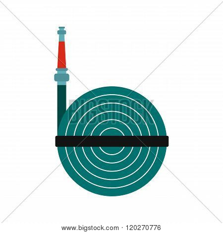 Fire hose winder roll reels icon