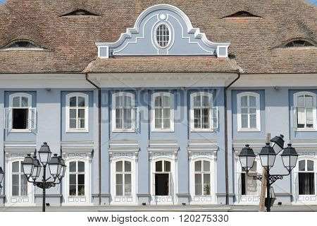 Baroque Palace in Square Unirii in Timisoara, Romania
