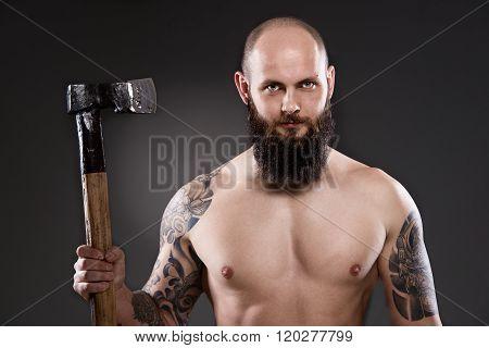 Naked Lumberjack.