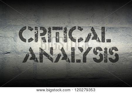 Critical Analysis Gr