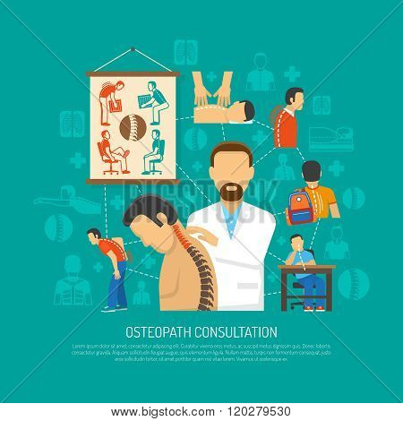 Osteopathy Design Concept