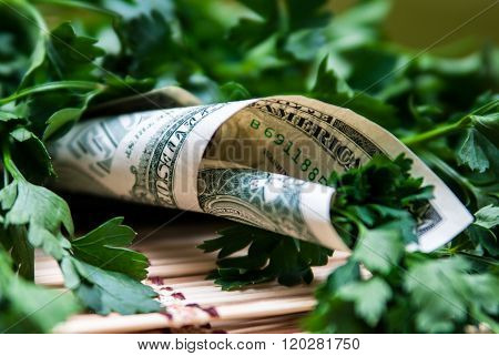 Parsley, Wrapped In A Dollar