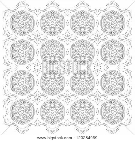 Symmetric Mandala Pattern