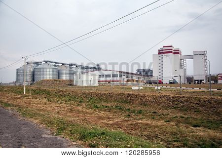 Feed Mill of Prokhorovka. Russia
