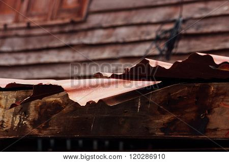 Eaves Of Rural House