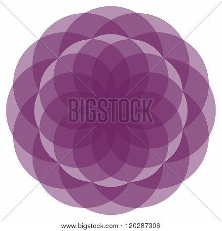 Nice Floral Mandala