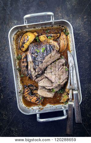 Lamb Roast in Casserole